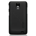 Nillkin Super Matte Hard Cases Skin Covers for Samsung i929 Galaxy S II DUOS - Black (High transparent screen protector)