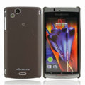 Nillkin Super Matte Hard Cases Skin Covers for Sony Ericsson Xperia Arc X12 - Brown (High transparent screen protector)