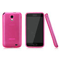 Nillkin Super Matte Rainbow Cases Skin Covers for Samsung E110S Galaxy SII LTE - Pink (High transparent screen protector)