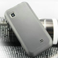 Nillkin Super Matte Rainbow Cases Skin Covers for Samsung GT-S5750E - Black (High transparent screen protector)