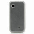 Nillkin Super Matte Rainbow Cases Skin Covers for Samsung GT-S5750E - White (High transparent screen protector)