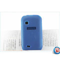 Nillkin Super Matte Rainbow Cases Skin Covers for Samsung S5670 - Blue (High transparent screen protector)