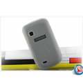 Nillkin Super Matte Rainbow Cases Skin Covers for Samsung S5670 - White (High transparent screen protector)