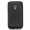 Nillkin Super Matte Rainbow Cases Skin Covers for Samsung S7500 GALAXY Ace Plus - Black (High transparent screen protector)