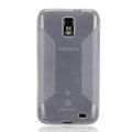 Nillkin Super Matte Rainbow Cases Skin Covers for Samsung i929 Galaxy S II DUOS - White (High transparent screen protector)