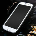 Nillkin leather Cases Holster Covers for Samsung Galaxy SIII S3 I9300 I9308 - Black (High transparent screen protector)