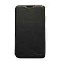 Nillkin leather Cases Holster Covers for Samsung i929 Galaxy S II DUOS - Black (High transparent screen protector)