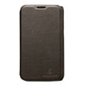 Nillkin leather Cases Holster Covers for Samsung i929 Galaxy S II DUOS - Brown (High transparent screen protector)