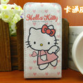 Hello Kitty Angel Leather case For HTC Incredible S S710E G11 - Pink