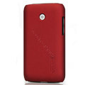 Nillkin Super Matte Hard Cases Skin Covers for LG E510 Optimus Glare - Red (High transparent screen protector)