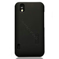 Nillkin Super Matte Hard Cases Skin Covers for LG P970 - Black (High transparent screen protector)