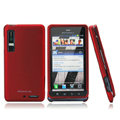Nillkin Super Matte Hard Cases Skin Covers for Motorola XT883 - Red (High transparent screen protector)