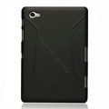 Nillkin Super Matte Hard Cases Skin Covers for Samsung Galaxy Tab 7.7 P6800 - Black (High transparent screen protector)