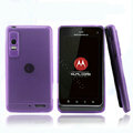 Nillkin Super Matte Rainbow Cases Skin Covers for Motorola XT883 - Purple (High transparent screen protector)