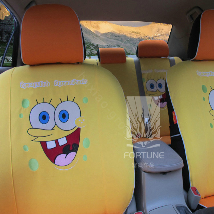 Buy Wholesale Fortune Spongebob Autos Car Seat Covers For