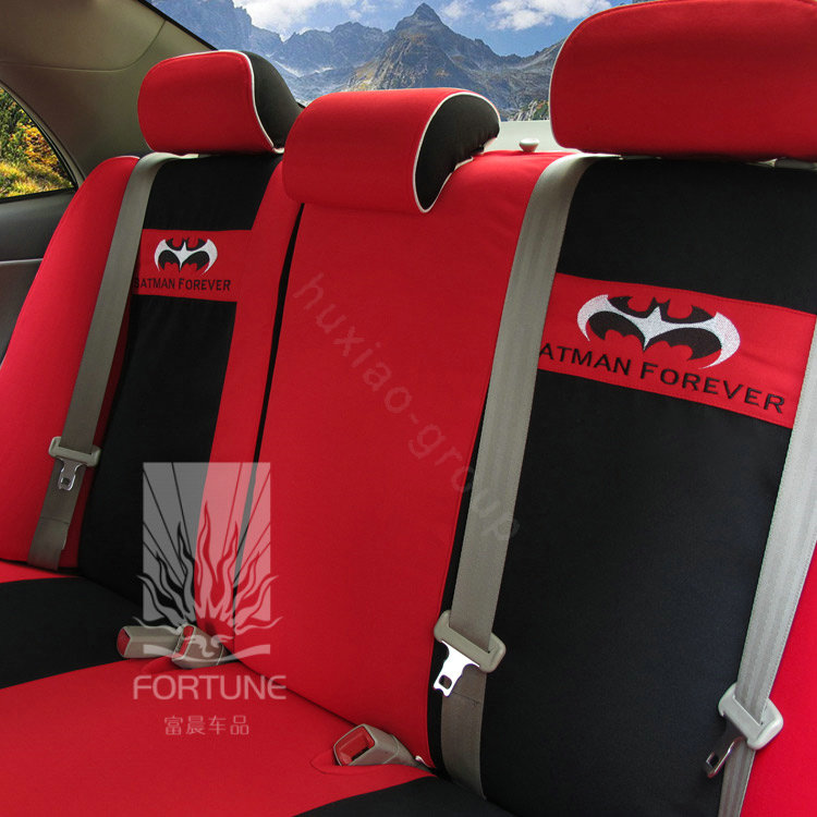 buy wholesale fortune batman forever autos car seat covers for 2012 honda fit red from chinese. Black Bedroom Furniture Sets. Home Design Ideas