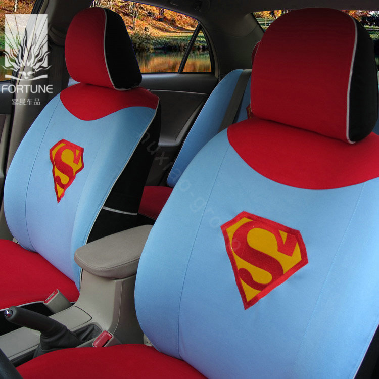 Superman Car Seat Covers