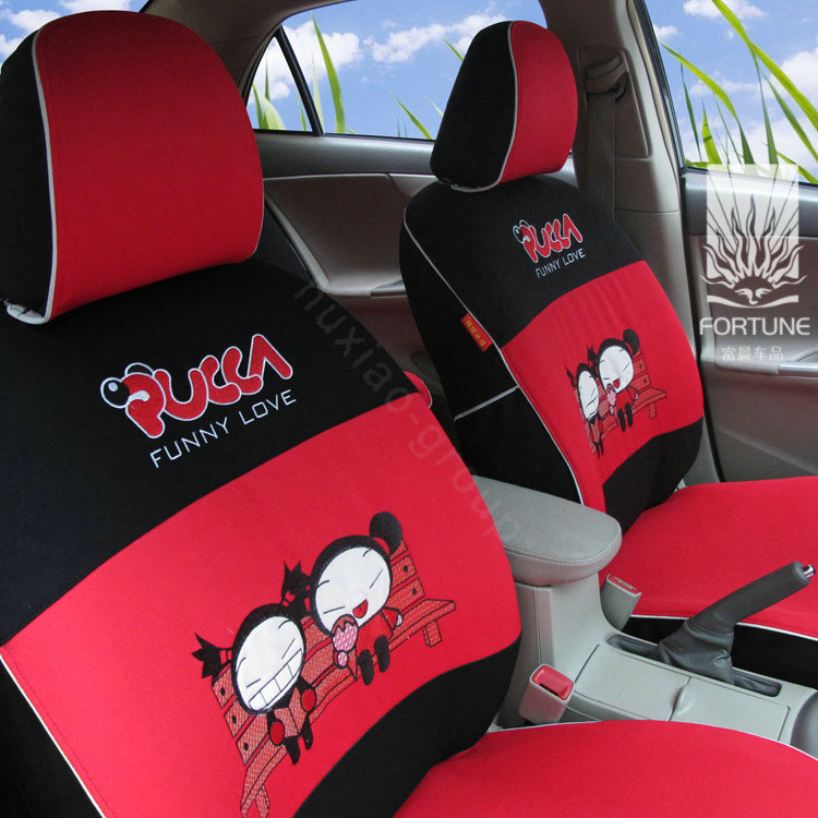 buy wholesale fortune snoopy autos car seat covers for 2012 toyota 5 door yaris le white from. Black Bedroom Furniture Sets. Home Design Ideas