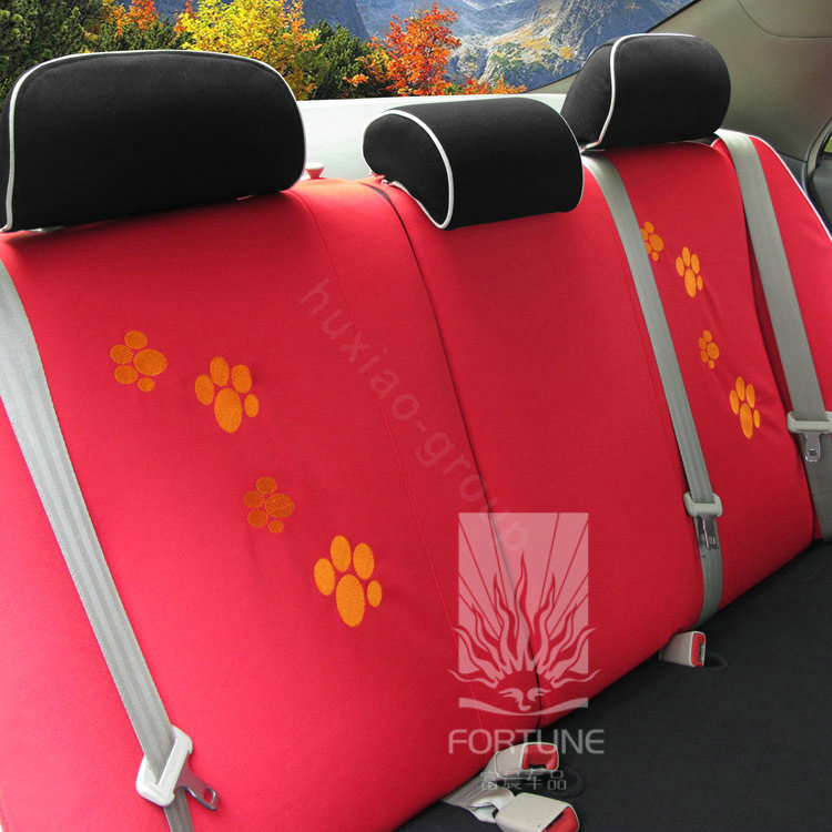 buy wholesale fortune garfield autos car seat covers for 2004 toyota highlander 7 seats red. Black Bedroom Furniture Sets. Home Design Ideas
