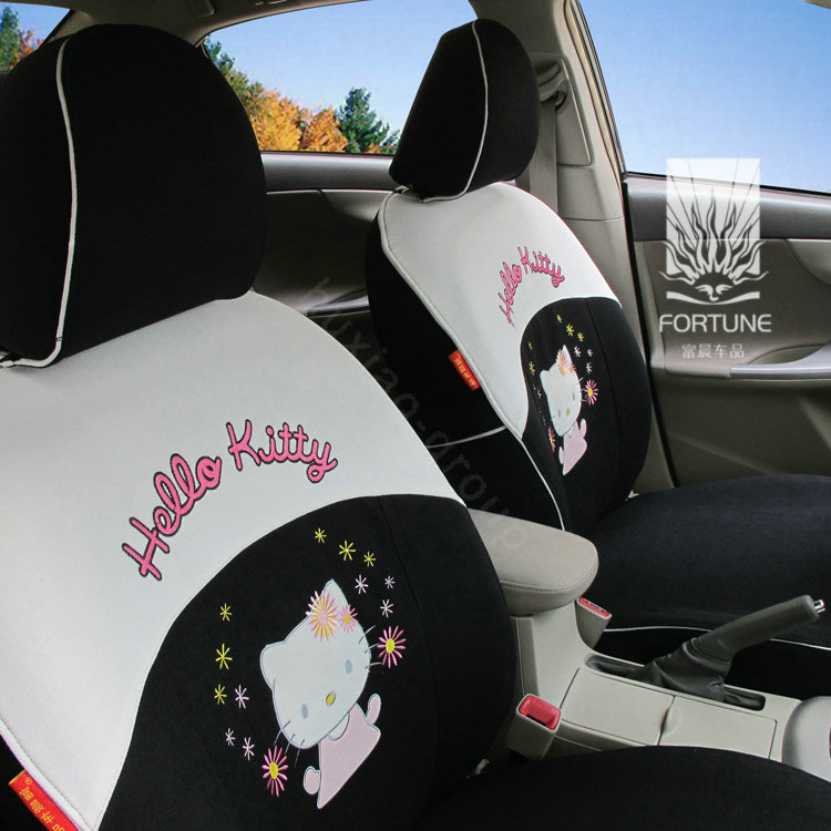 buy wholesale fortune hello kitty autos car seat covers for 2004 toyota highlander 7 seats. Black Bedroom Furniture Sets. Home Design Ideas