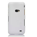 Nillkin Super Matte Hard Cases Skin Covers for Samsung i8530 Galaxy Beam - White (High transparent screen protector)