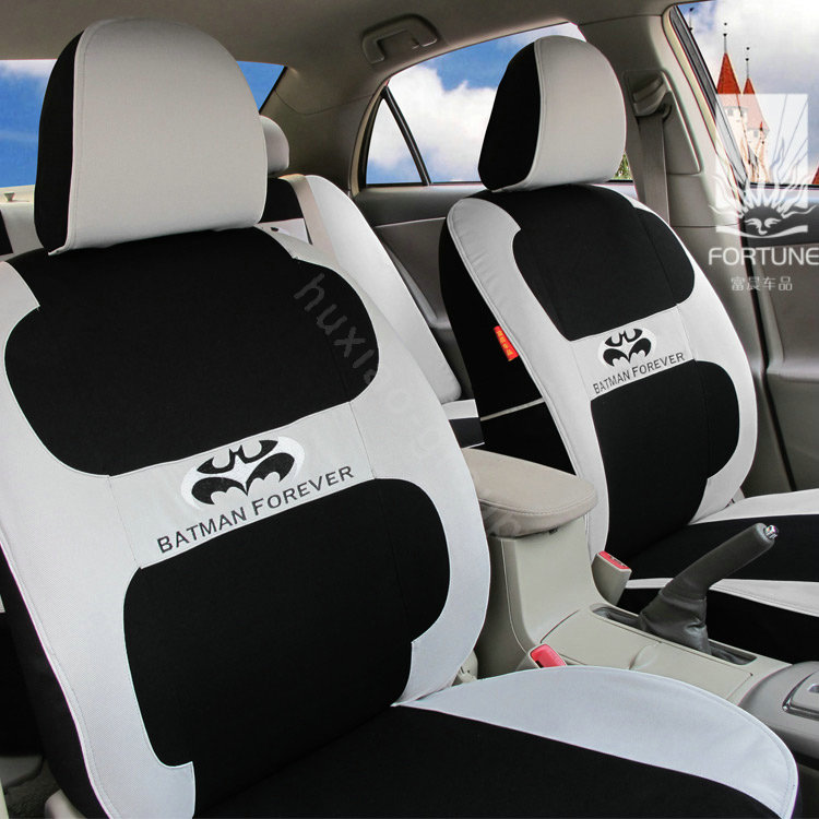 buy wholesale fortune batman forever autos car seat covers for 2012 toyota rav4 gray from. Black Bedroom Furniture Sets. Home Design Ideas