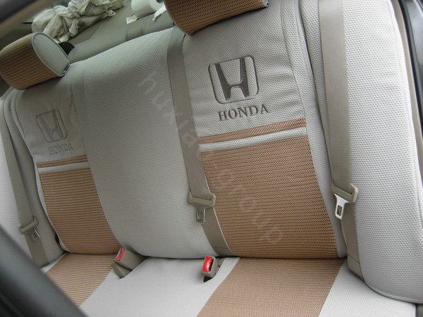 buy wholesale fortune honda logo gem velvet autos car seat covers for honda civic wagon gray. Black Bedroom Furniture Sets. Home Design Ideas