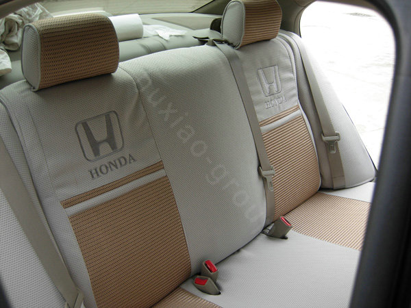 buy wholesale fortune honda logo gem velvet autos car seat covers for honda civic wagovan wagon. Black Bedroom Furniture Sets. Home Design Ideas
