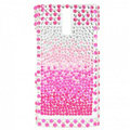 Bling Rhinestone Crystal Cases Covers for Sony Ericsson LT26i Xperia S - Gradual Pink
