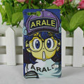Cartoon Arale Matte Hard Cases Covers for Sony Ericsson ST27i Xperia Go - Blue