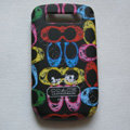 Coach Painting Hard Cases Skin Covers for BB BlackBerry 8900 - Black