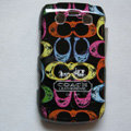 Coach Painting Hard Cases Skin Covers for BB Blackberry Bold 9700 - Black