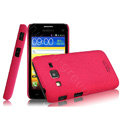 IMAK Cowboy Shell Quicksand Hard Cases Covers for Samsung B9062 - Rose (High transparent screen protector)