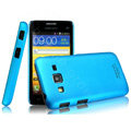 IMAK Ultrathin Matte Color Covers Hard Cases for Samsung B9062 - Blue (High transparent screen protector)