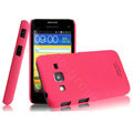 IMAK Ultrathin Matte Color Covers Hard Cases for Samsung B9062 - Rose (High transparent screen protector)