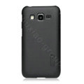 Nillkin Super Matte Hard Cases Skin Covers for Samsung B9062 - Black (High transparent screen protector)