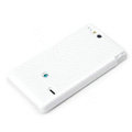 ROCK Jewel Hard Cases Skin Covers for Sony Ericsson ST27i Xperia Go - White (High transparent screen protector)