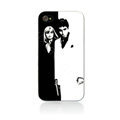 Scarface Hard Cases Skin Covers for iPhone 4G/4S - White EB003