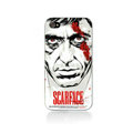 Scarface Hard Cases Skin Covers for iPhone 4G/4S - White