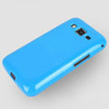 TPU Soft Silicone Cases Skin Covers for Samsung B9062 - Blue