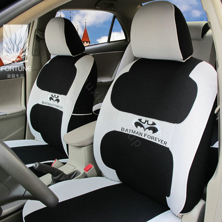 Buy Wholesale FORTUNE Batman Forever Autos Car Seat Covers For Honda Civic Si Sedan Gray From
