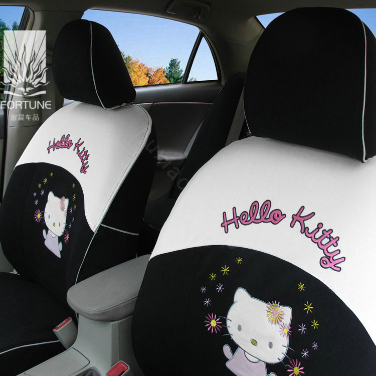hello kitty car seat covers release date price and specs. Black Bedroom Furniture Sets. Home Design Ideas