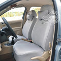 VV Leather-velvet Autos Car Seat Covers for BMW 128i - Gray