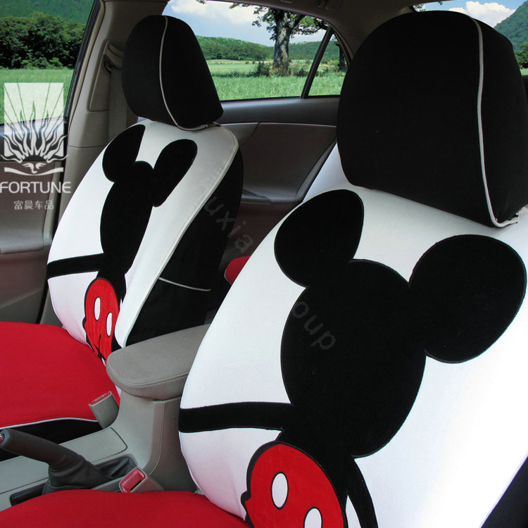buy wholesale fortune mickey mouse autos car seat covers for honda crosstour ex white from. Black Bedroom Furniture Sets. Home Design Ideas