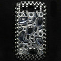 Bling Crystal Covers Rhinestone Diamond Cases For Samsung Galaxy S III 3 i9300 I9308 - Black