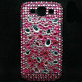 Bling Crystal Covers Rhinestone Diamond Cases For Samsung Galaxy S III 3 i9300 I9308 - Pink