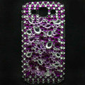Bling Crystal Covers Rhinestone Diamond Cases For Samsung Galaxy S III 3 i9300 I9308 - Purple