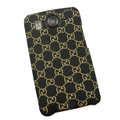 GUCCI Hard Cases Color Covers for HTC Desire HD G10 A9191 A9192 - Black