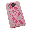 LV Louis Vuitton Hard Cases Color Covers for HTC Desire HD G10 A9191 A9192 - Pink
