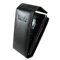 IMAK Flip leather Cases Holster Covers for Sony Ericsson Aino U10i - Black